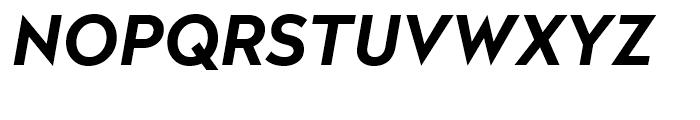 Radikal Bold Italic Font UPPERCASE