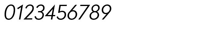 Radikal Light Italic Font OTHER CHARS