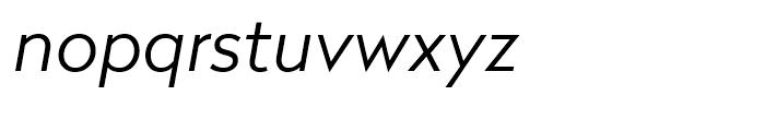 Radikal Light Italic Font LOWERCASE