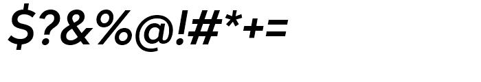 Radikal Medium Italic Font OTHER CHARS