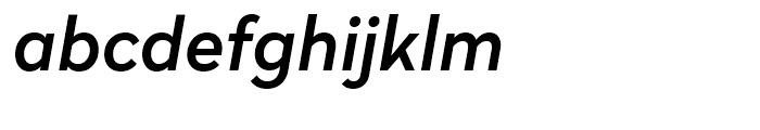 Radikal Medium Italic Font LOWERCASE