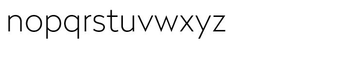 Radikal Thin Font LOWERCASE