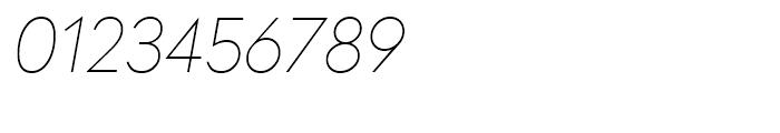 Radikal UltraThin Italic Font OTHER CHARS