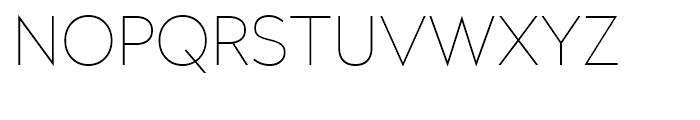 Radikal UltraThin Font UPPERCASE