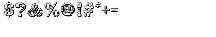 Railhead Regular Font OTHER CHARS