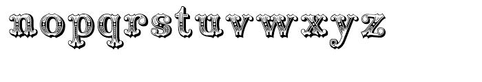 Railhead Regular Font LOWERCASE