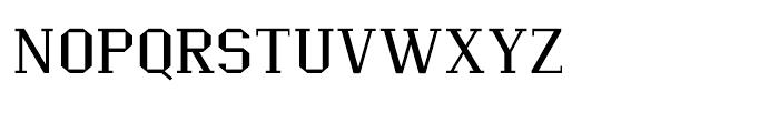 Ranger Wider Font UPPERCASE
