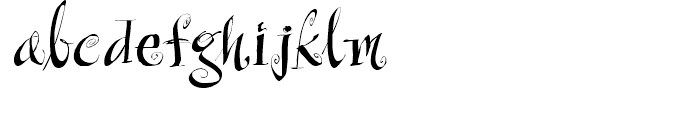Raspberry Jam Font LOWERCASE