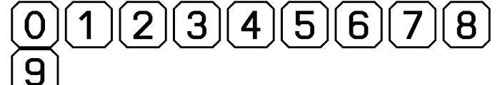 Ratcaps PC Font OTHER CHARS