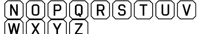 Ratcaps PC Font UPPERCASE