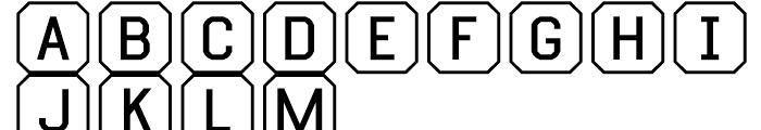 Ratcaps PC Font LOWERCASE