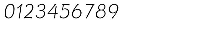 Ravenna Light Oblique Font OTHER CHARS