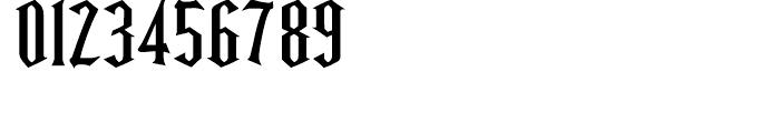 Ravenwood One Font OTHER CHARS