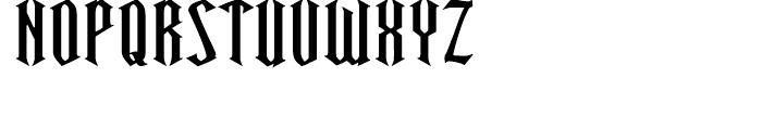 Ravenwood One Font UPPERCASE