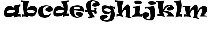 Ravie Regular MST Font LOWERCASE