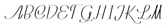 Rachele Ribbon Black Cd Font UPPERCASE