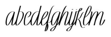 Rachele Ribbon Black Cd Font LOWERCASE