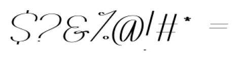 Rachele Ribbon Black Semi Font OTHER CHARS