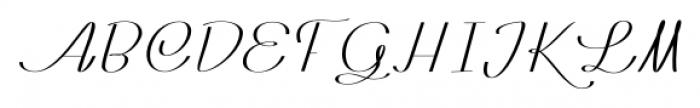 Rachele Ribbon Black Semi Font UPPERCASE