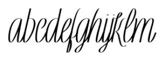 Rachele Ribbon Black UltrCd Font LOWERCASE