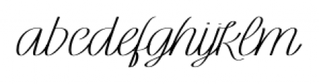 Rachele Ribbon Bold Exp Font LOWERCASE