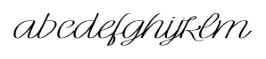Rachele Ribbon Bold Super Font LOWERCASE