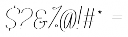 Rachele Ribbon Bold UltrCd Font OTHER CHARS