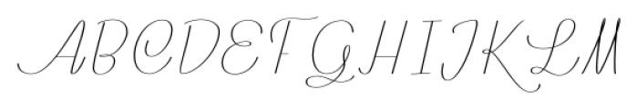 Rachele Ribbon Cd Font UPPERCASE