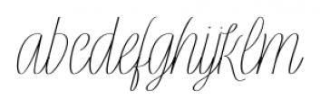 Rachele Ribbon Cd Font LOWERCASE