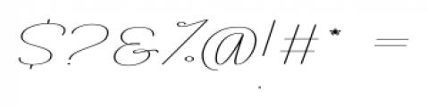 Rachele Ribbon Exp Font OTHER CHARS