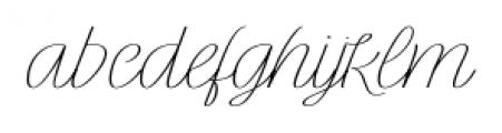 Rachele Ribbon Exp Font LOWERCASE