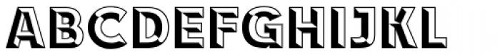 RACE1 Brannt Chiseled Normal Font UPPERCASE