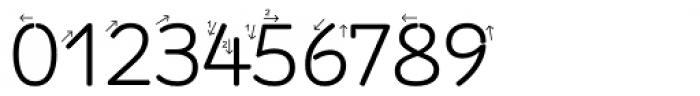 RAN Pfeil Font OTHER CHARS