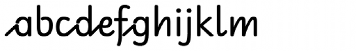 RAN Font LOWERCASE