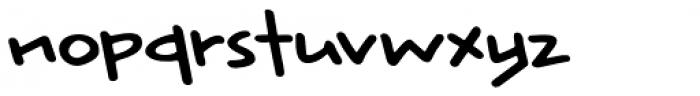 Rabbit Escape Regular Font LOWERCASE