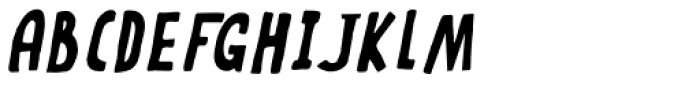 Rabbit On The Moon Italic Font UPPERCASE