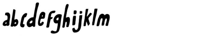 Rabbit On The Moon Italic Font LOWERCASE