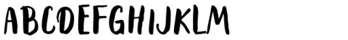 Rabbits Dummy Font UPPERCASE