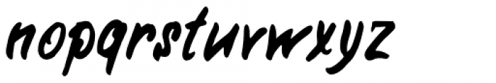 Rabbits Hyper Font LOWERCASE