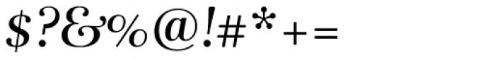 Rabenau Pro Book Italic Font OTHER CHARS