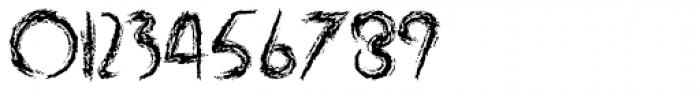 Rabid Font OTHER CHARS