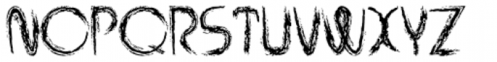 Rabid Font UPPERCASE