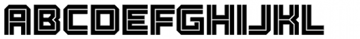 Racetrack Two Font UPPERCASE