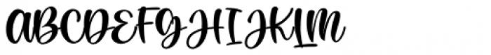 Rachel Lovelyn Regular Font UPPERCASE