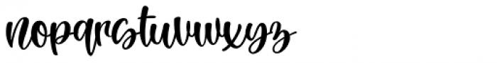 Rachel Lovelyn Regular Font LOWERCASE