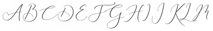 Rachela Regular Font UPPERCASE