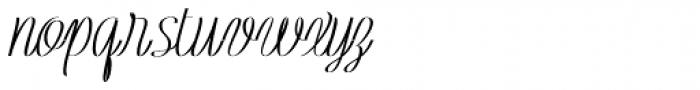 Rachele Cond Ribbon Black Font LOWERCASE