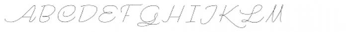 Rachele Expd Thin Font UPPERCASE