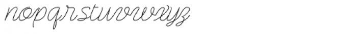 Rachele Expd Font LOWERCASE