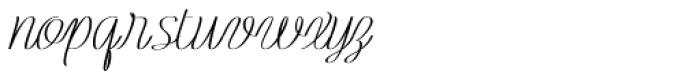 Rachele Semi Ribbon Bold Font LOWERCASE